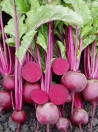 Use beetroot leaves as one would spinach