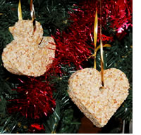 Make your own #BirdGardening tree decorations