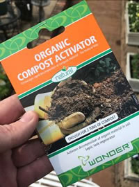 Compost Activator speeds up the process